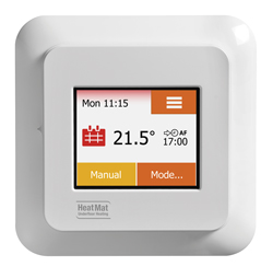 NGTouch thermostat home screen