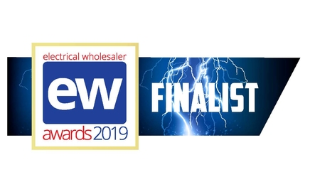We are finalists in the Electrical Wholesaler Awards 2019