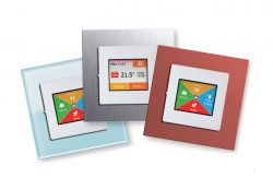Under Floor Heating Touch Screen Thermostat