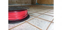 In Screed Electric Underfloor Heating Cable