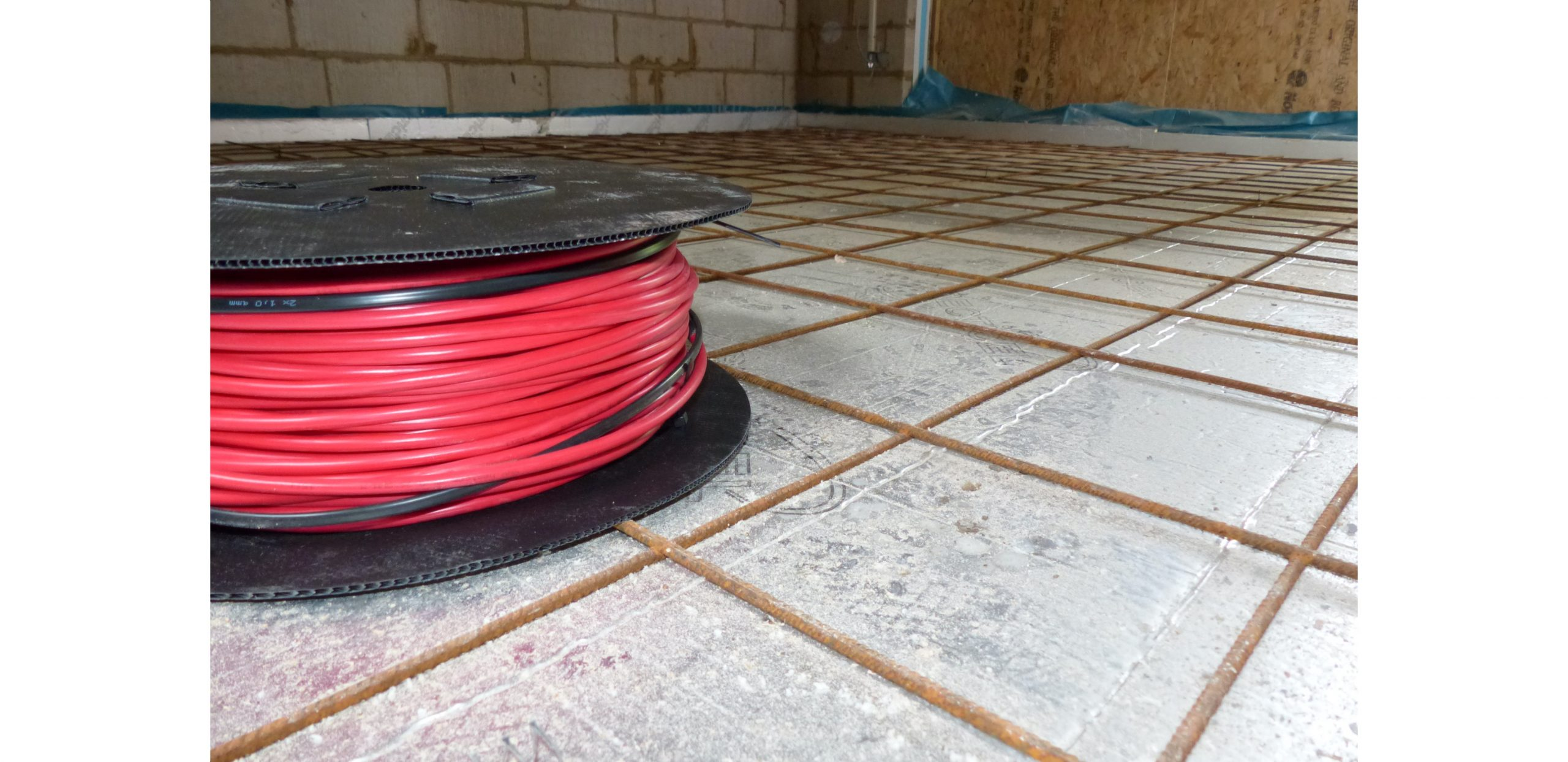 In Screed Heating Cable Heat Mat