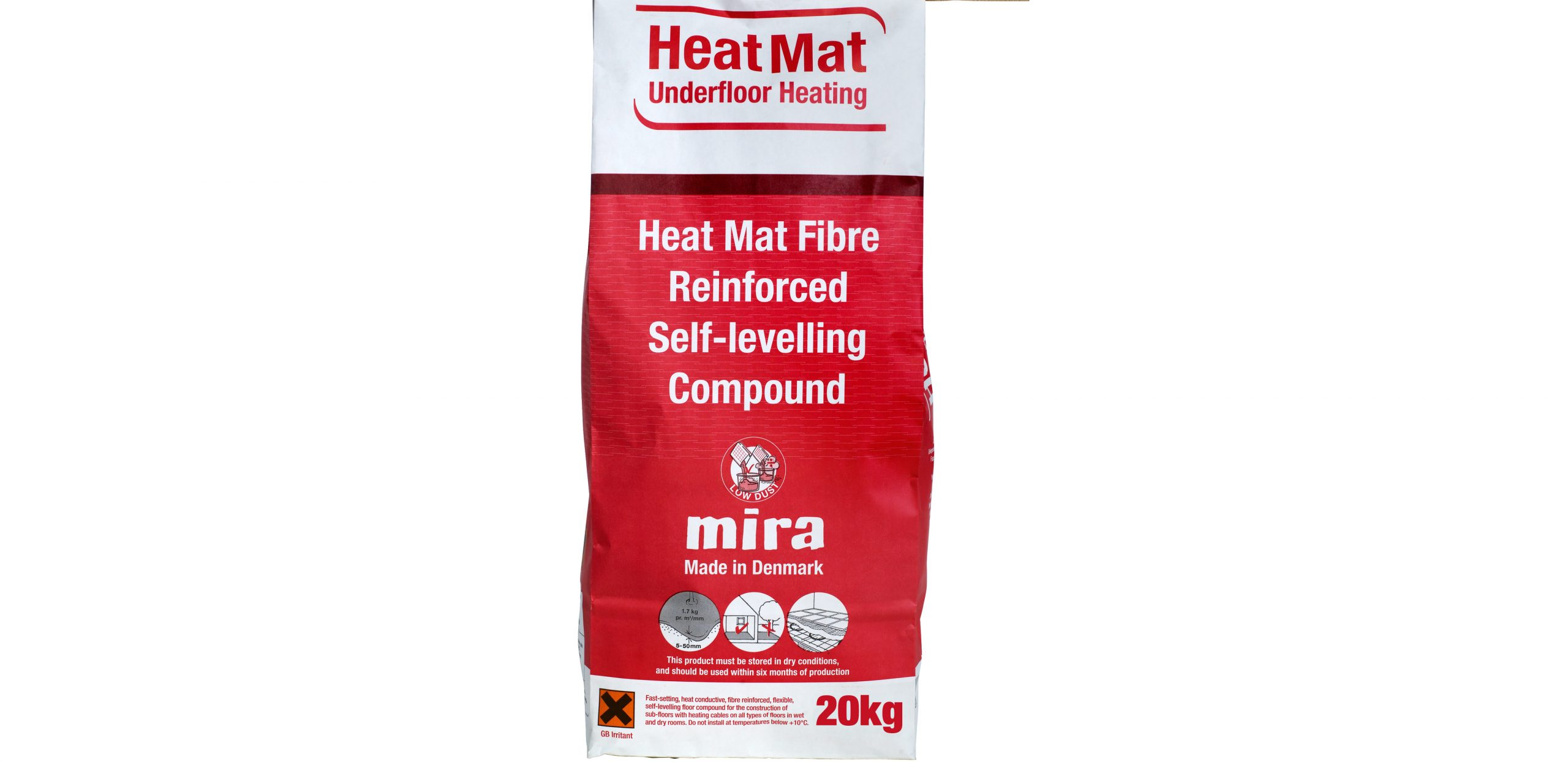 Electric Underfloor Heating Flexible Self Levelling Compound