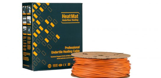 Under Tile Electric Underfloor Heating Cable