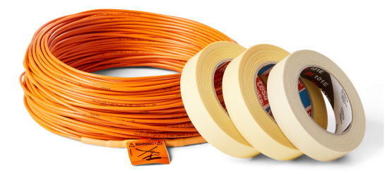 Electric Under Floor Heating Cable For Tiles